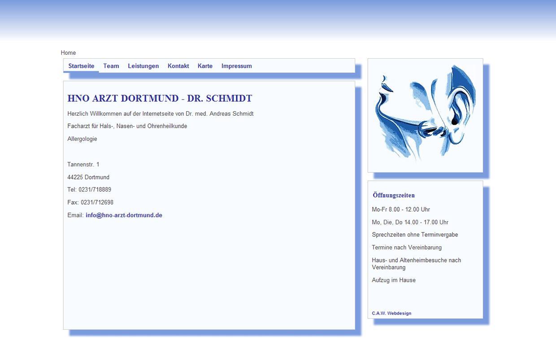 Webdesign Schleswig Holsteinhttp://www.hno-arzt-dortmund.de/