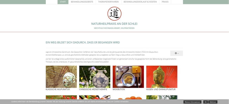 Homepage Erstellung Schleswig