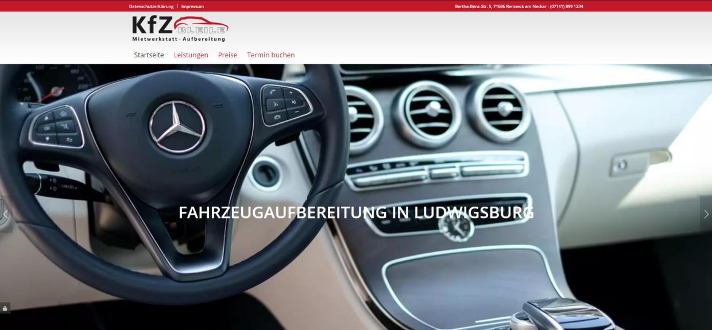 WordPress Webseite Schleswig